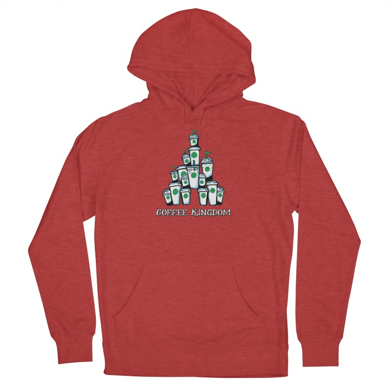 Coffee Kingdom Men's French Terry Pullover Hoody by Greg Gosline Design Co.