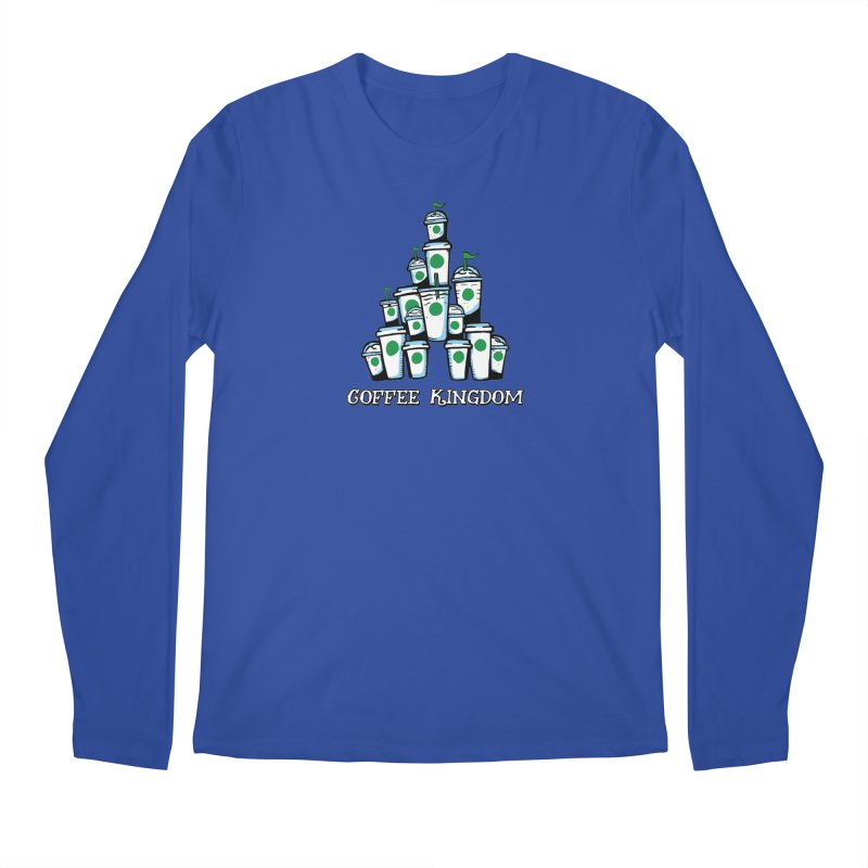 Coffee Kingdom Men's Longsleeve T-Shirt by Greg Gosline Design Co.