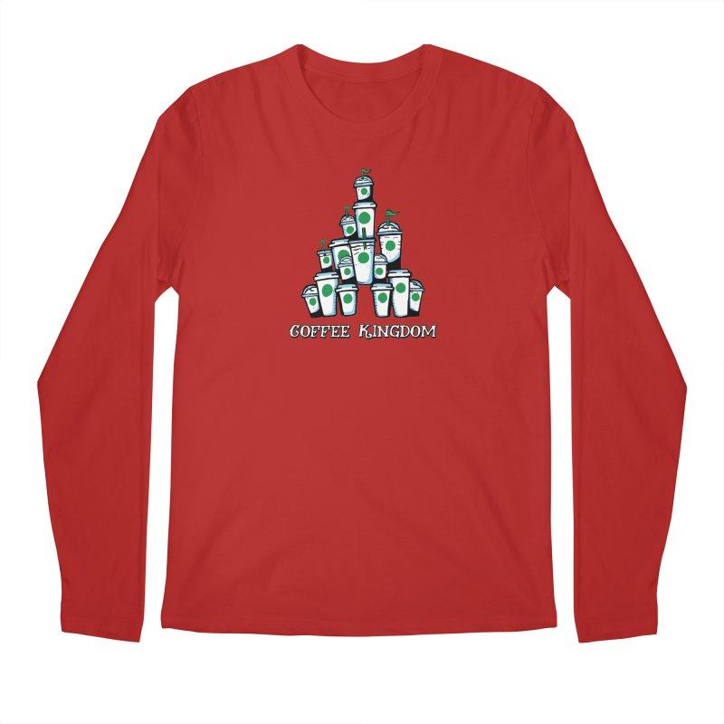 Coffee Kingdom Men's Longsleeve T-Shirt by Greg Gosline Design Co.