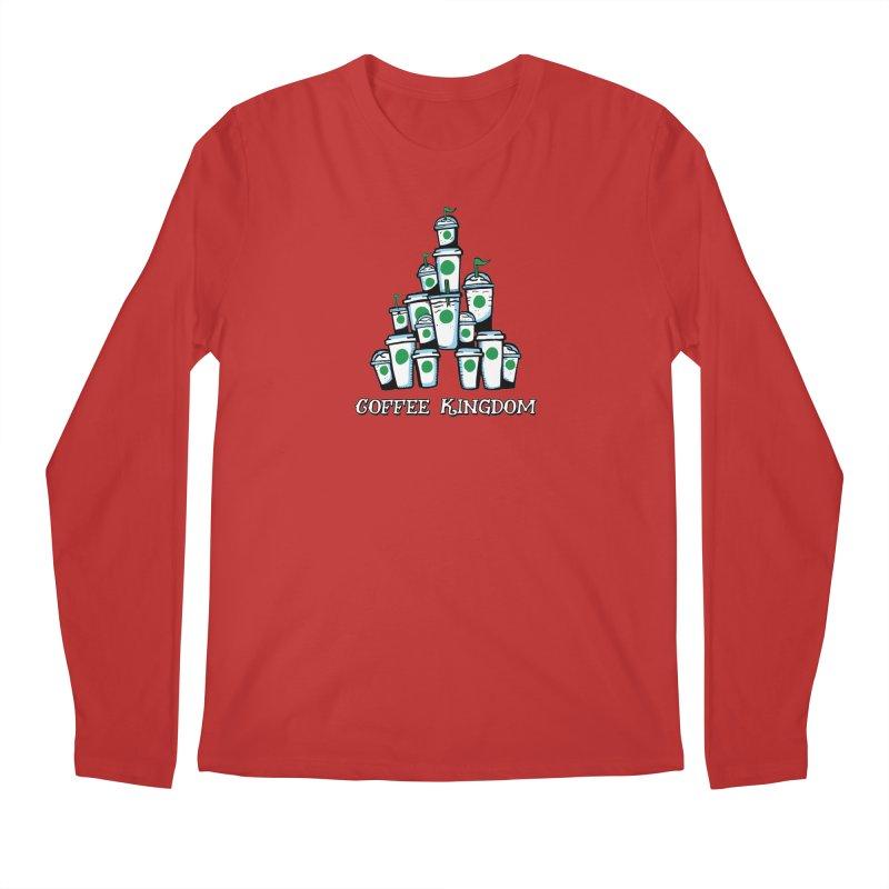 Coffee Kingdom Men's Regular Longsleeve T-Shirt by Greg Gosline Design Co.