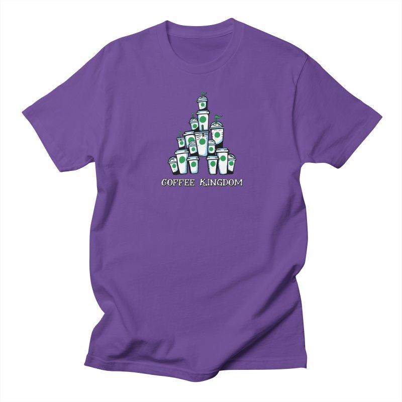 Coffee Kingdom Men's T-Shirt by Greg Gosline Design Co.
