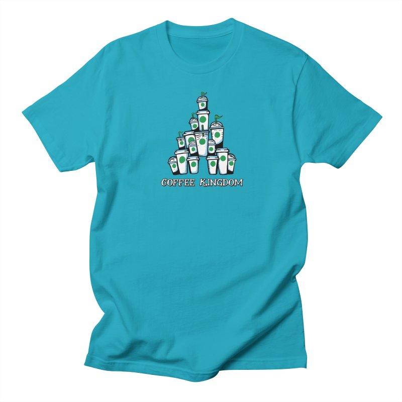 Coffee Kingdom Women's Unisex T-Shirt by Greg Gosline Design Co.