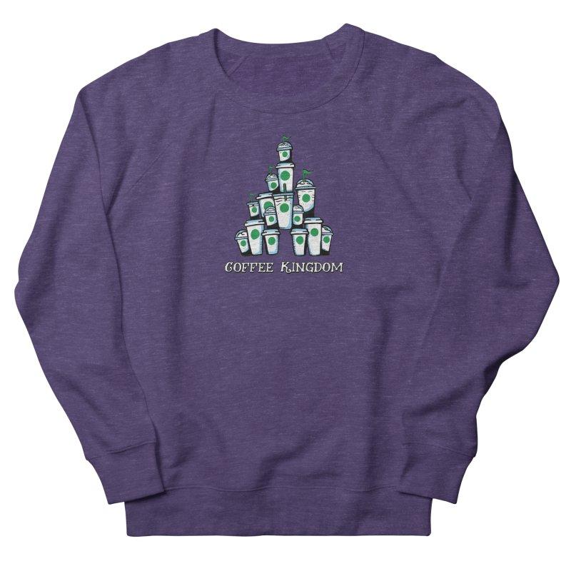 Coffee Kingdom Women's French Terry Sweatshirt by Greg Gosline Design Co.