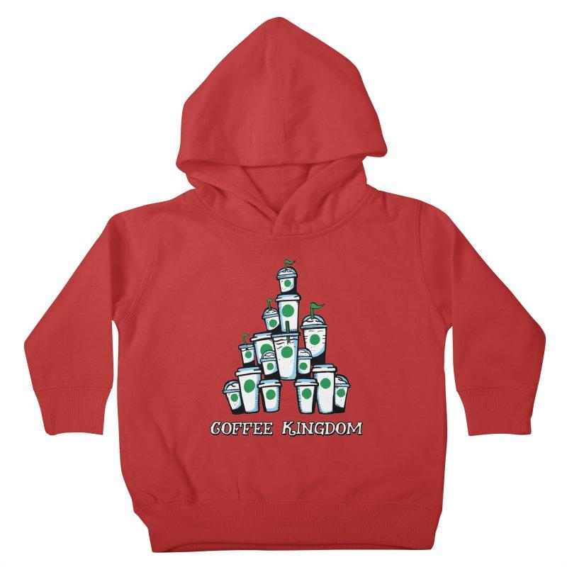 Coffee Kingdom Kids Toddler Pullover Hoody by Greg Gosline Design Co.
