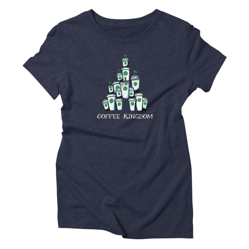Coffee Kingdom Women's Triblend T-Shirt by Greg Gosline Design Co.