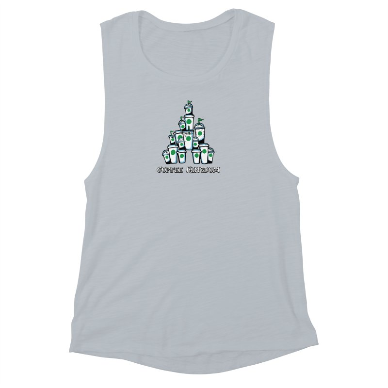 Coffee Kingdom Women's Muscle Tank by Greg Gosline Design Co.