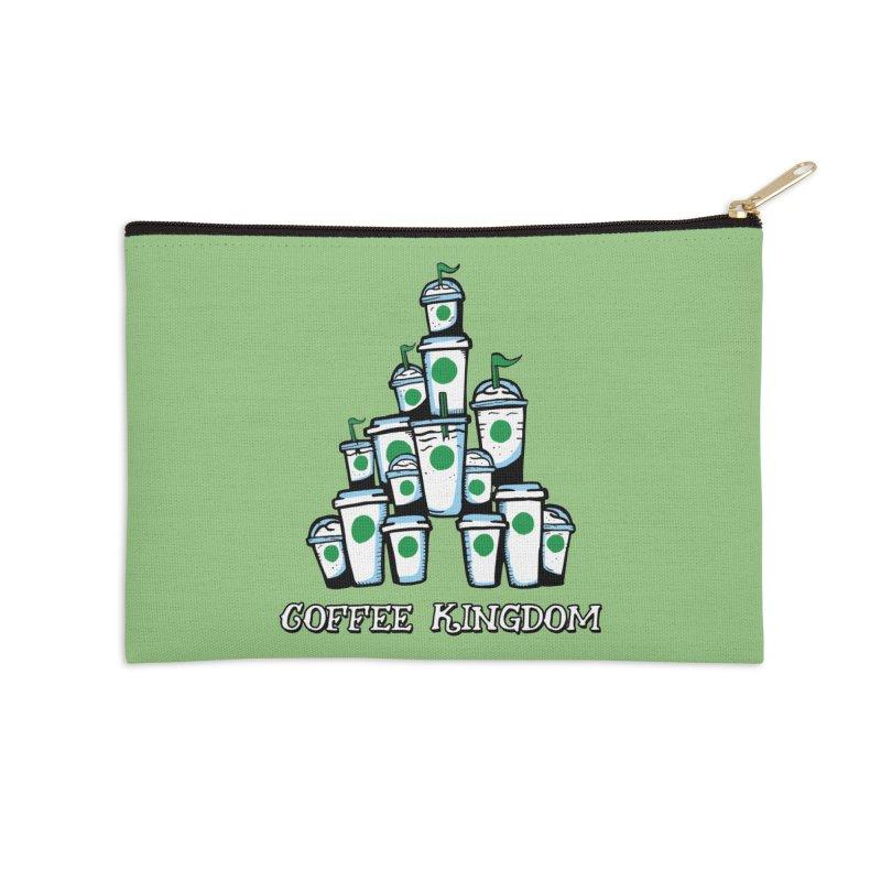 Coffee Kingdom Accessories Zip Pouch by Greg Gosline Design Co.