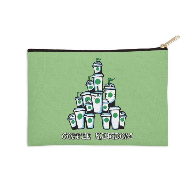 Coffee Kingdom Accessories Zip Pouch by Greg Gosline Design Co.
