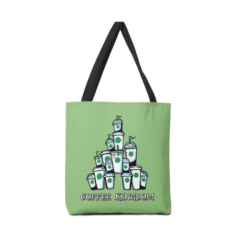 Coffee Kingdom Accessories Bag by Greg Gosline Design Co.