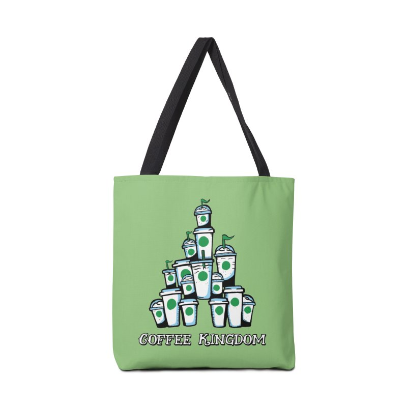 Coffee Kingdom Accessories Tote Bag Bag by Greg Gosline Design Co.