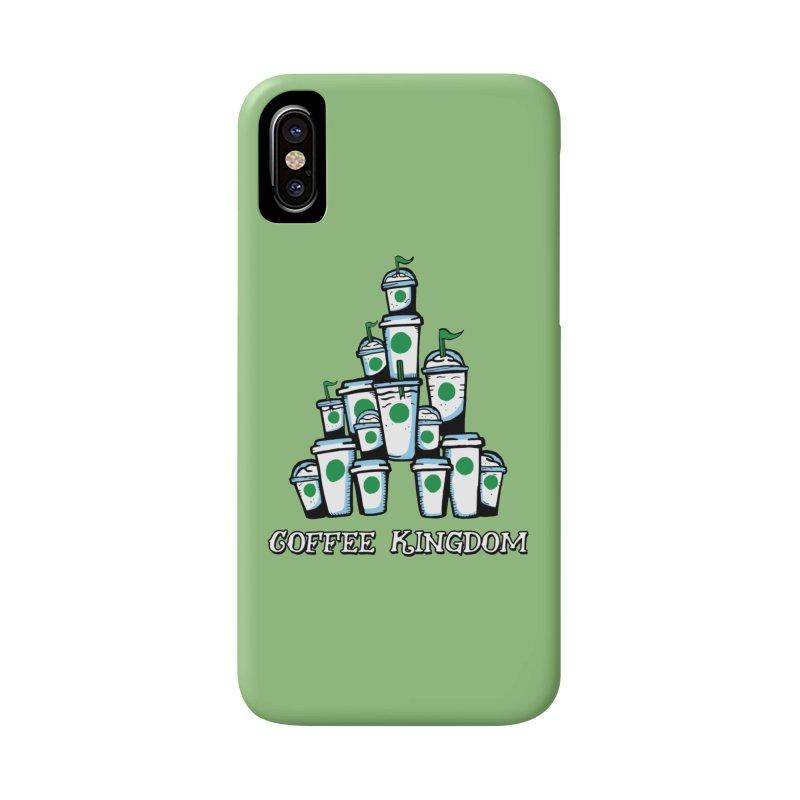 Coffee Kingdom Accessories Phone Case by Greg Gosline Design Co.