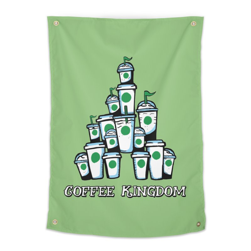 Coffee Kingdom Home Tapestry by Greg Gosline Design Co.