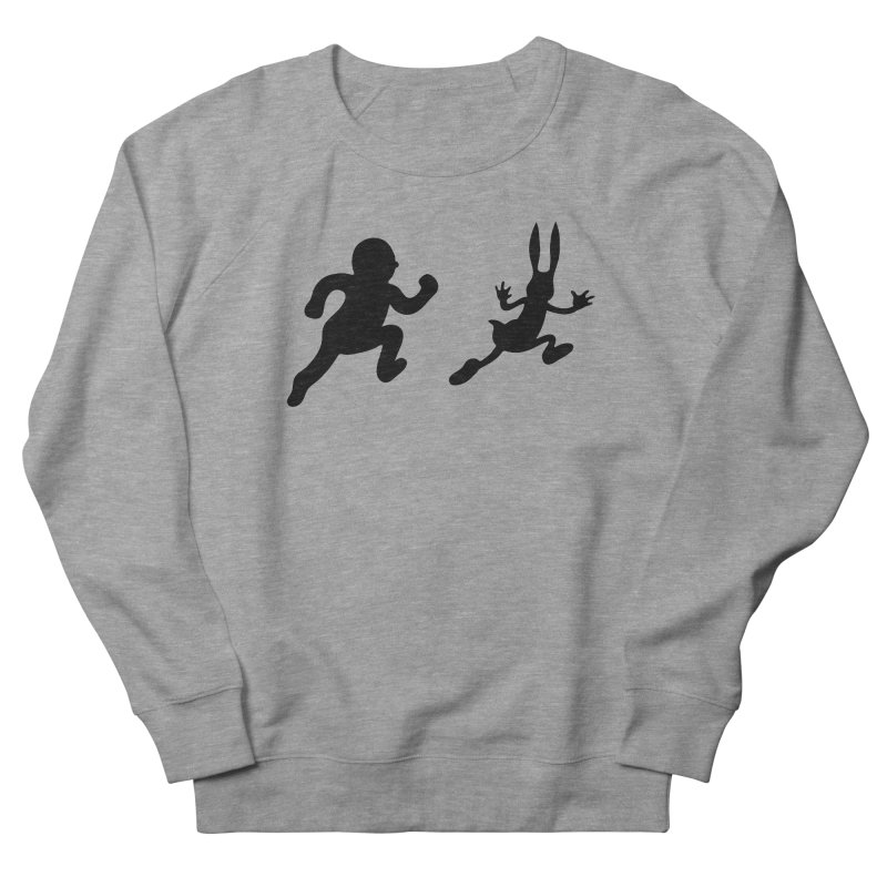 Bunny and Hunter Men's Sweatshirt by grego's Artist Shop