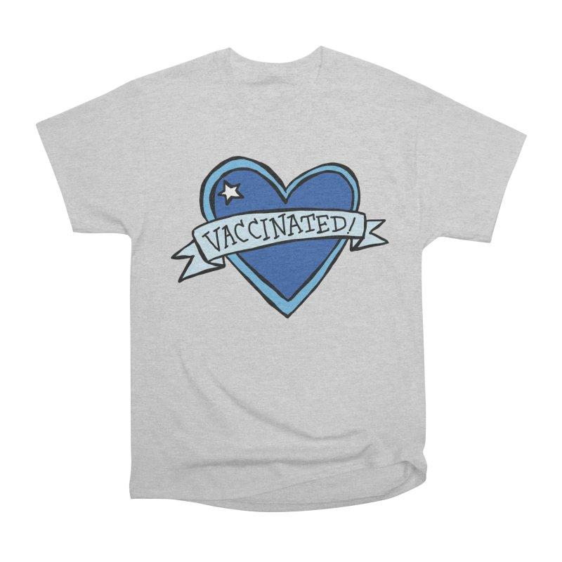 Vaccinated! Heart Men's T-Shirt by Greg Pak's Threadless Shop