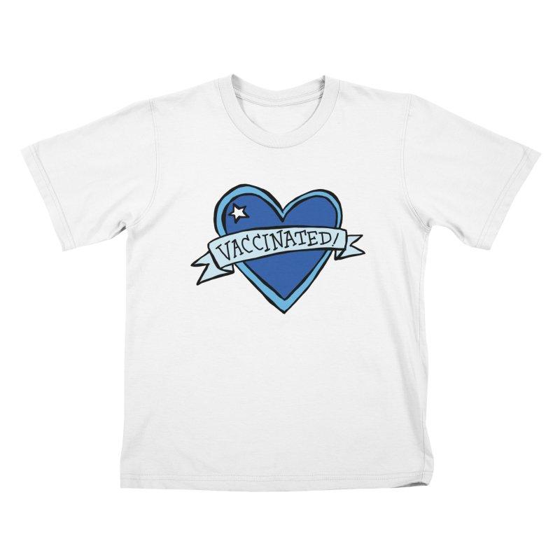 Vaccinated! Heart Kids T-Shirt by Greg Pak's Threadless Shop