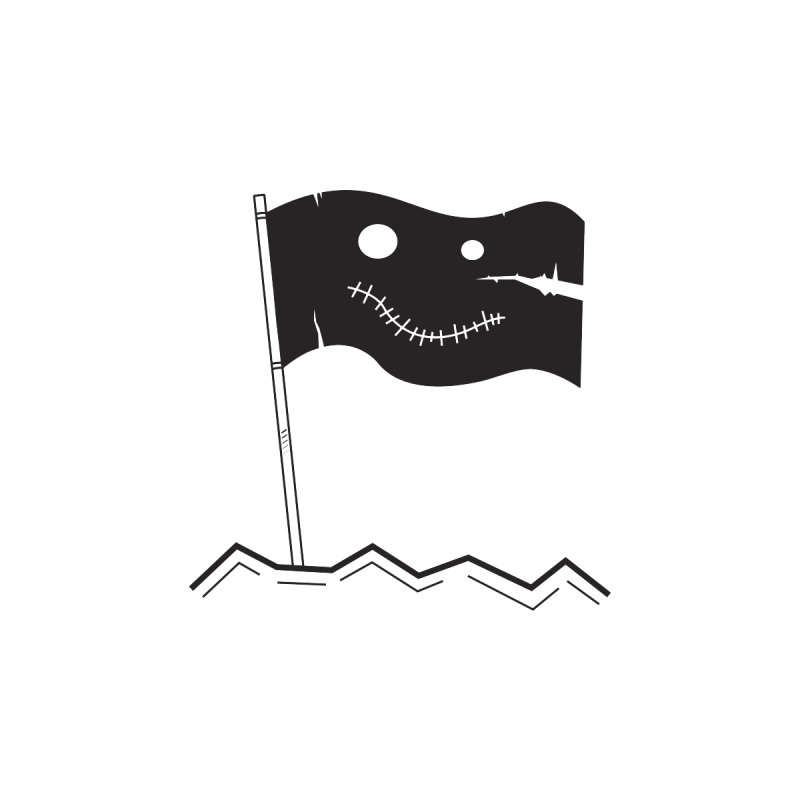 Flag of No Hope None  by Ominous Artist Shop