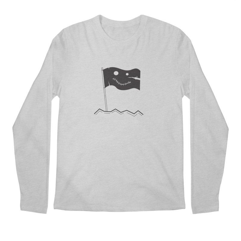 Flag of No Hope Men's Longsleeve T-Shirt by Ominous Artist Shop