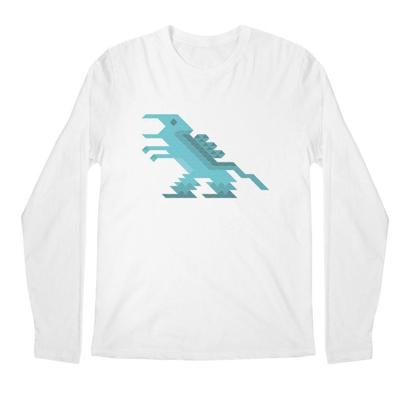 Cube-O-Saur Men's Longsleeve T-Shirt by Ominous Artist Shop