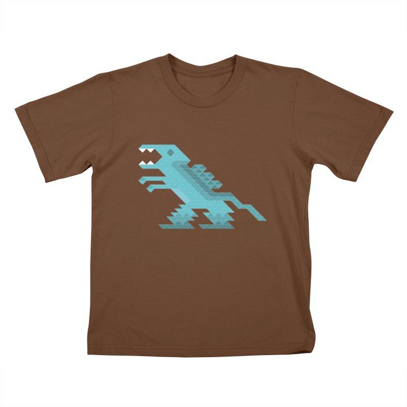 Cube-O-Saur Kids T-shirt by Ominous Artist Shop