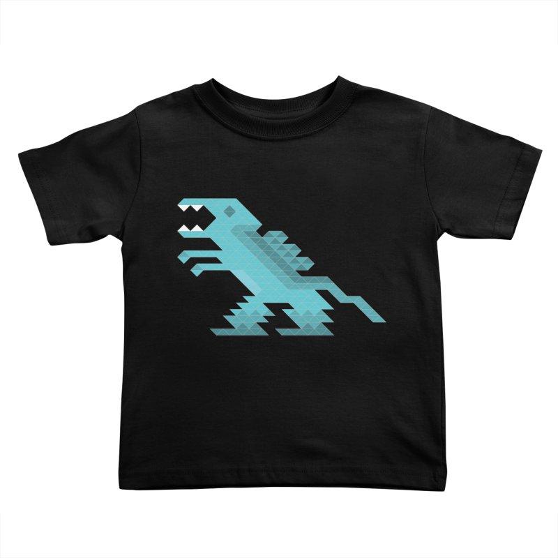 Cube-O-Saur Kids Toddler T-Shirt by Ominous Artist Shop