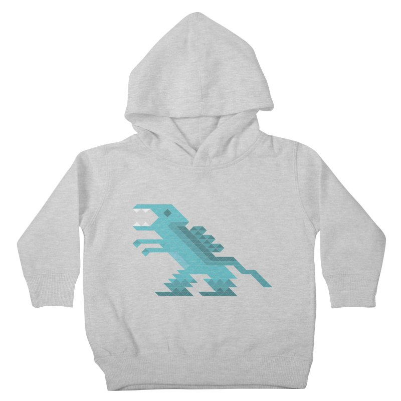Cube-O-Saur Kids Toddler Pullover Hoody by Ominous Artist Shop