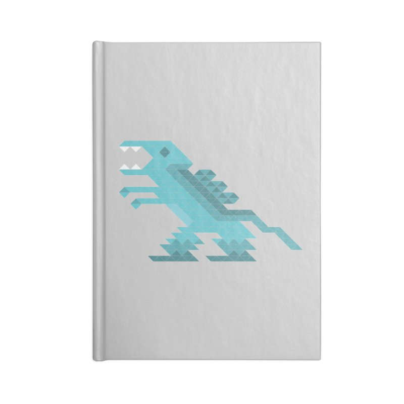 Cube-O-Saur Accessories Notebook by Ominous Artist Shop