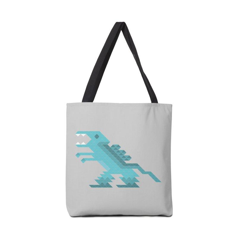 Cube-O-Saur Accessories Bag by Ominous Artist Shop