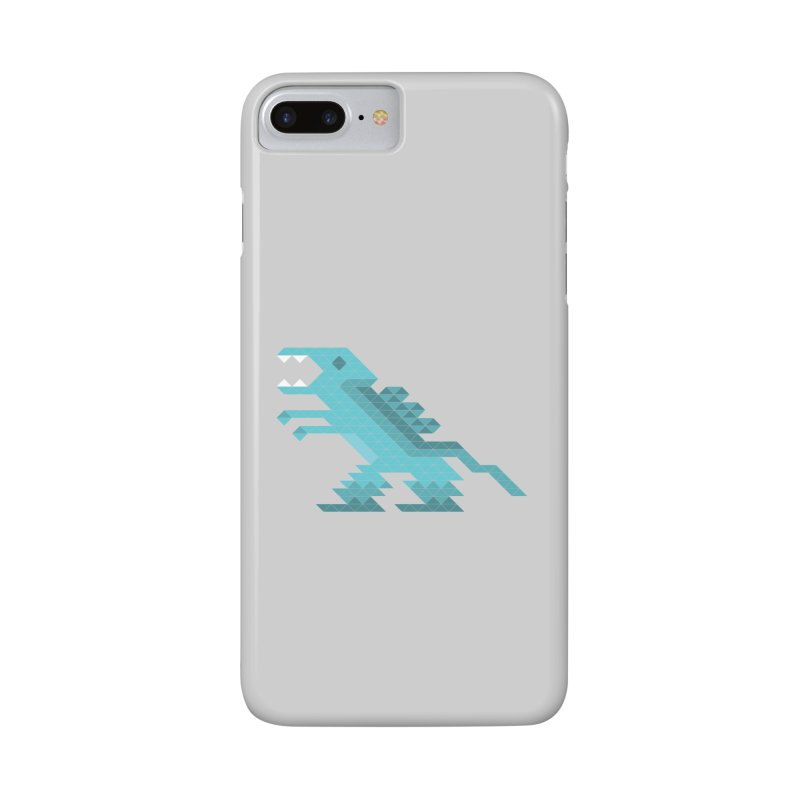 Cube-O-Saur Accessories Phone Case by Ominous Artist Shop