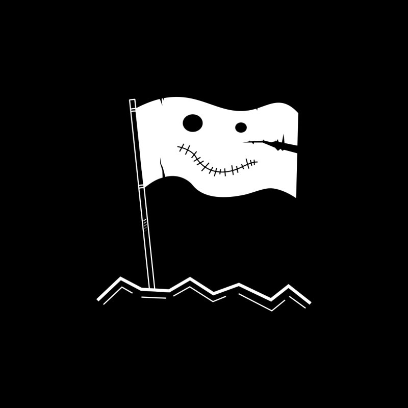 Flag of No Hope - Reverse None  by Ominous Artist Shop