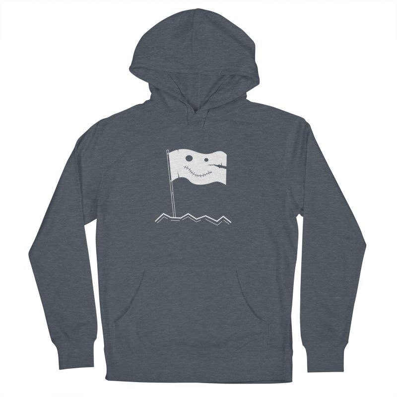 Flag of No Hope - Reverse Men's Pullover Hoody by Ominous Artist Shop