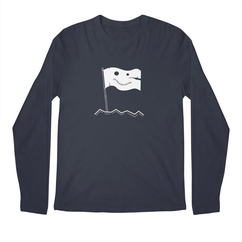 Flag of No Hope - Reverse Men's Longsleeve T-Shirt by Ominous Artist Shop