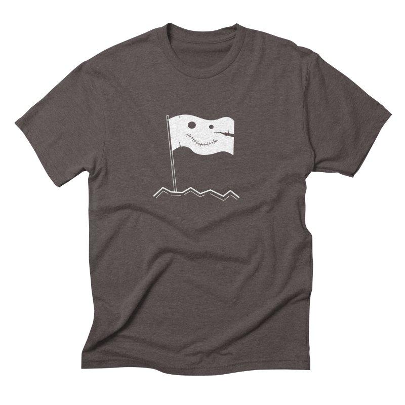 Flag of No Hope - Reverse Men's Triblend T-shirt by Ominous Artist Shop