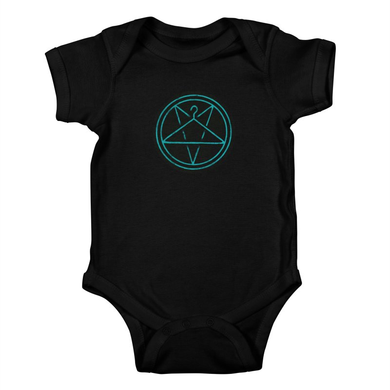Ritualistic Human Sacrifice Kids Baby Bodysuit by Grindhouse Press Merchandise