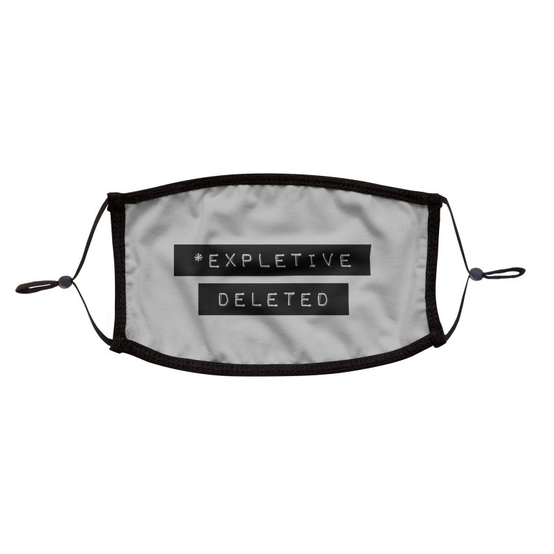 *Expletive Deleted Accessories Face Mask by Gritty Knits