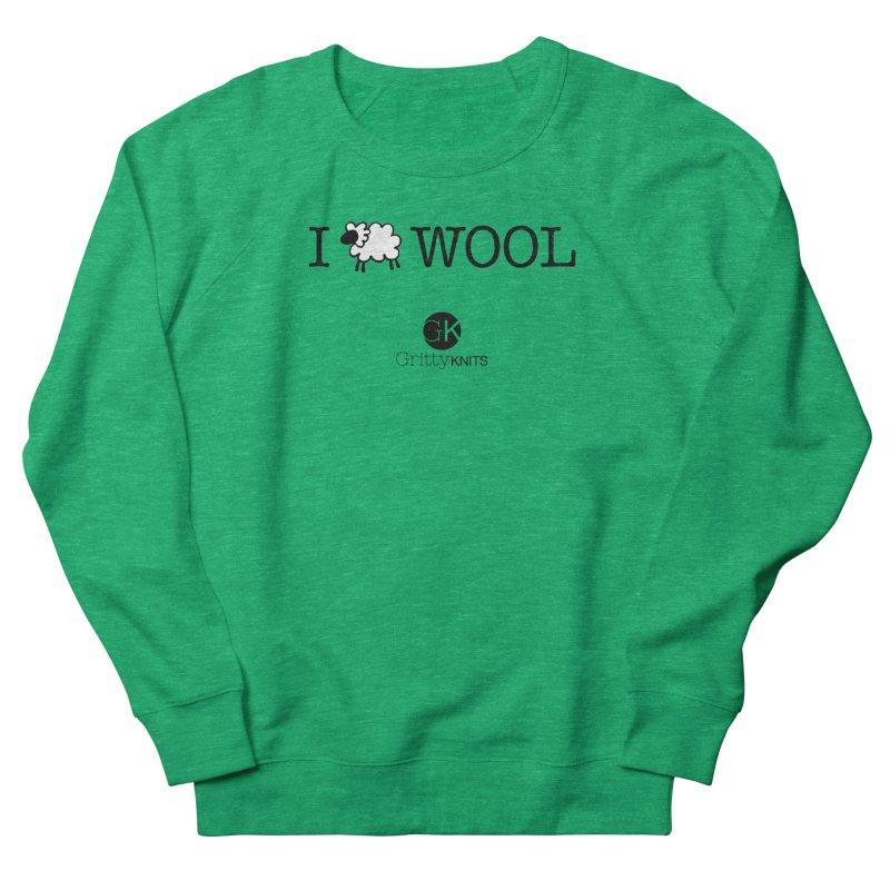 I (sheep) WOOL Women's Sweatshirt by Gritty Knits