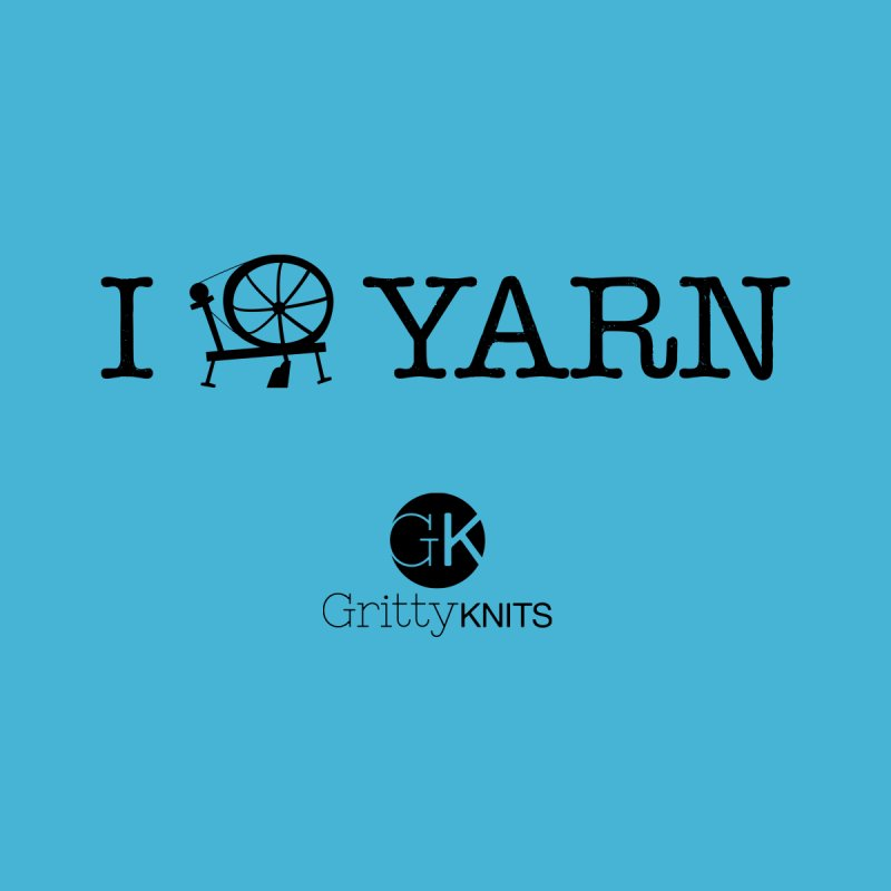 I (spin) YARN Men's T-Shirt by Gritty Knits