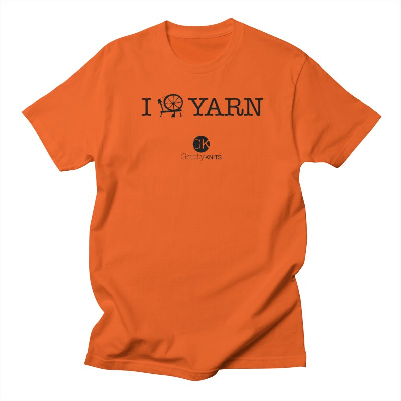 I (spin) YARN Women's Regular Unisex T-Shirt by Gritty Knits