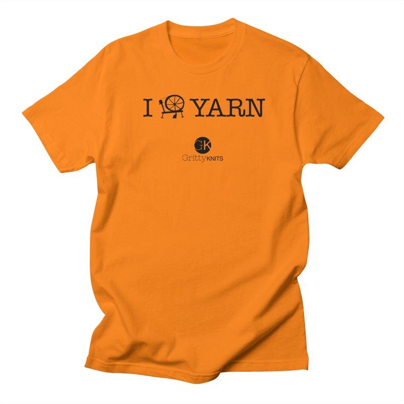 I (spin) YARN Women's Regular Unisex T-Shirt by Gritty Knits