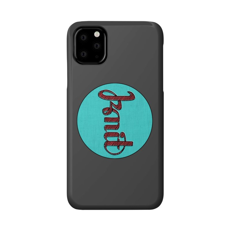 Knit/Purl ambigram Accessories Phone Case by Gritty Knits
