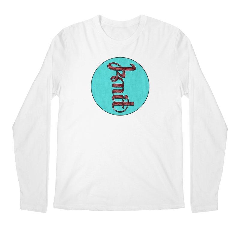 Knit/Purl ambigram Men's Regular Longsleeve T-Shirt by Gritty Knits