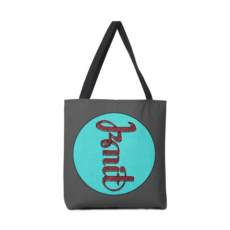 Knit/Purl ambigram Accessories Tote Bag Bag by Gritty Knits