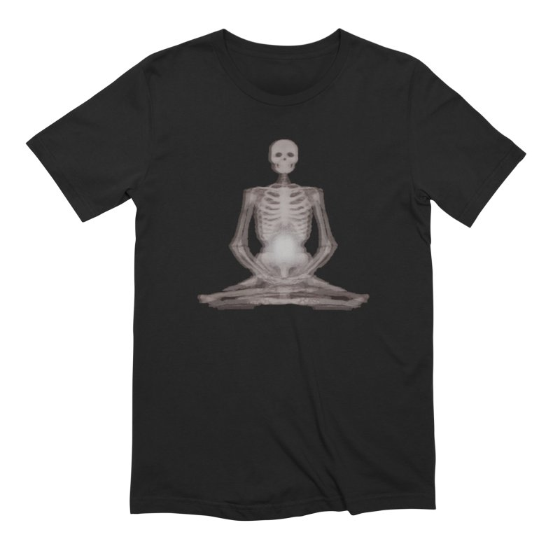 Meditative Death Men's Extra Soft T-Shirt by Grizzly Butts' Artist Shop