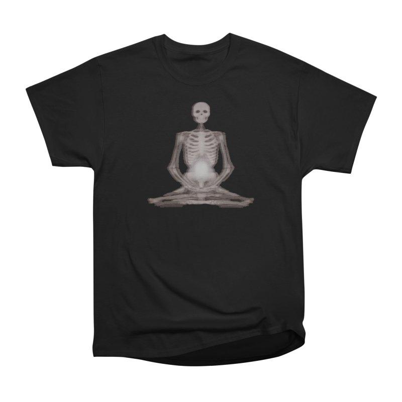 Meditative Death Men's Heavyweight T-Shirt by Grizzly Butts' Artist Shop