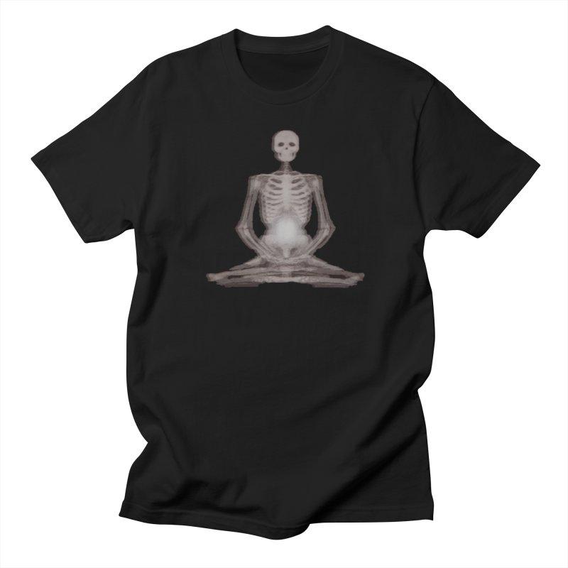 Meditative Death Men's Regular T-Shirt by Grizzly Butts' Artist Shop