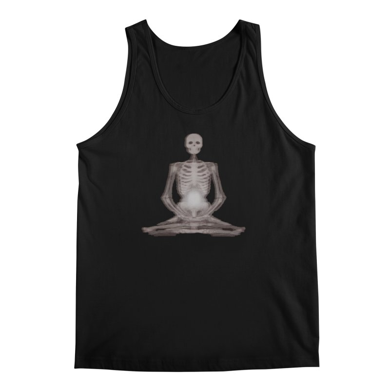 Meditative Death Men's Regular Tank by Grizzly Butts' Artist Shop