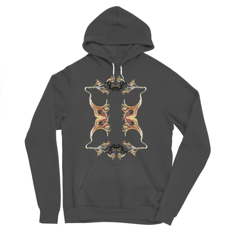 Neuronal Rifts Men's Sponge Fleece Pullover Hoody by Grizzly Butts' Artist Shop