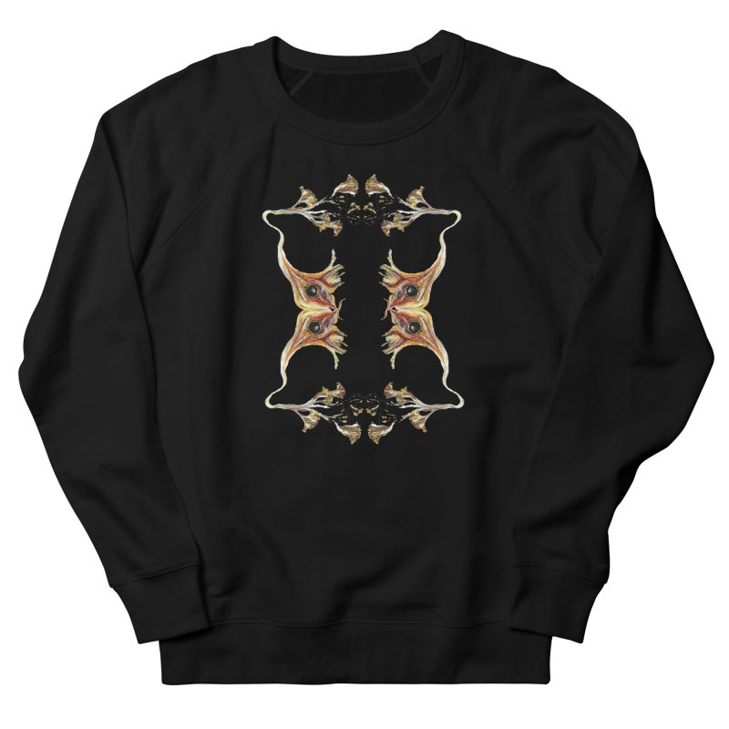 Neuronal Rifts Women's French Terry Sweatshirt by Grizzly Butts' Artist Shop