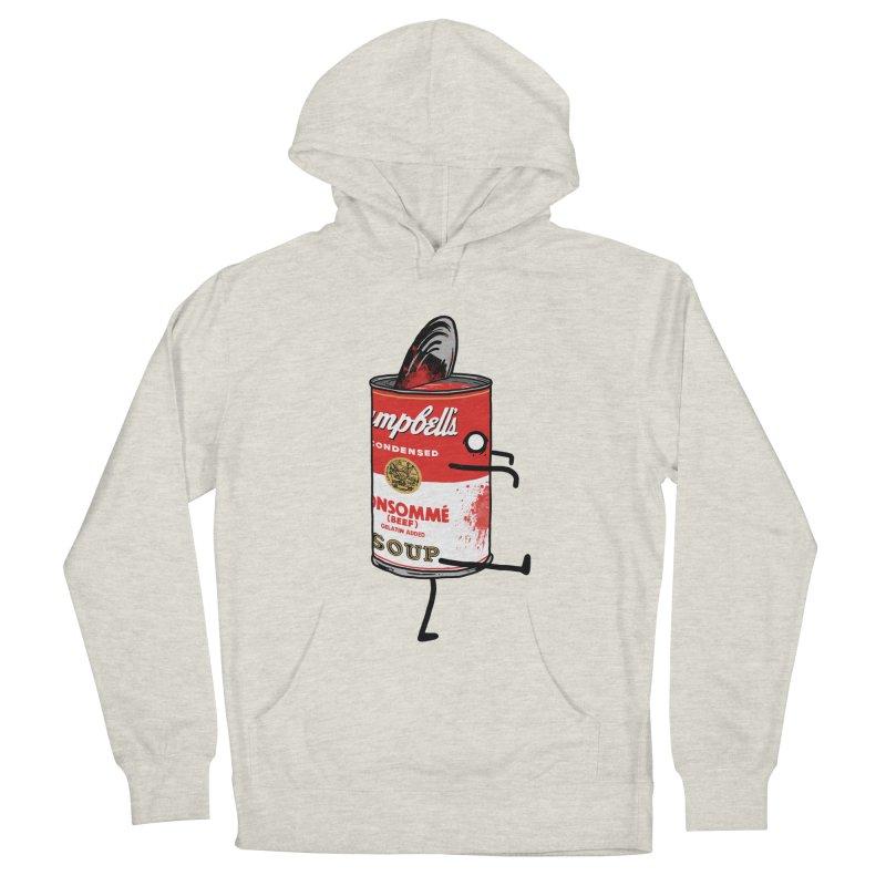 Zombie Tomato Soup Men's Pullover Hoody by groch's Artist Shop