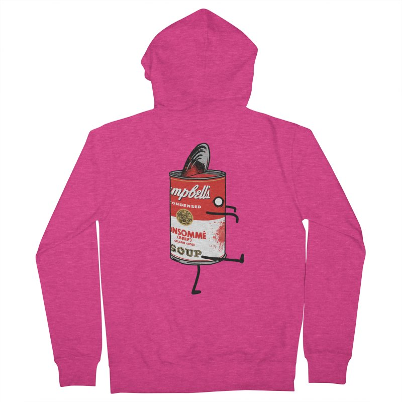 Zombie Tomato Soup Women's Zip-Up Hoody by groch's Artist Shop