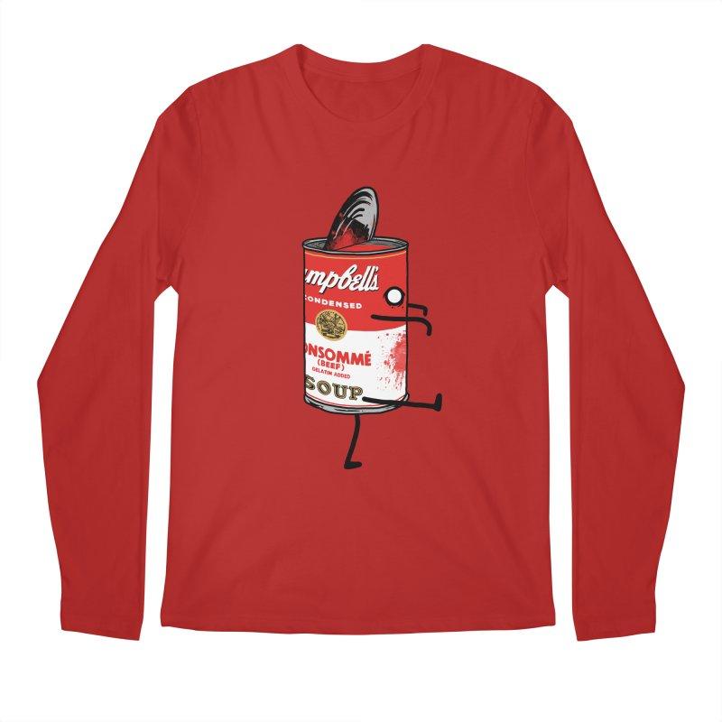 Zombie Tomato Soup Men's Longsleeve T-Shirt by groch's Artist Shop